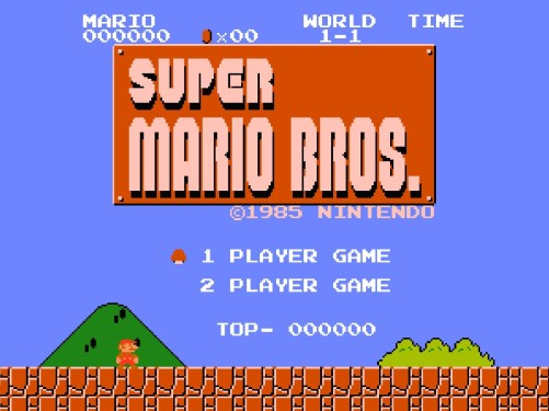 Mario-Bros-Opening-Screen